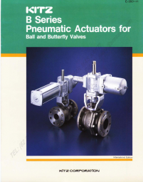 KITZ Pneumatic Actuator [B Series]