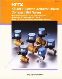 KITZ Compact Electric Ball Valves