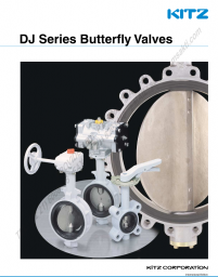 KITZ Ductile Iron Butterfly Valves [DJ Series]
