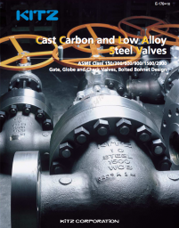 KITZ Carbon Steel Valves