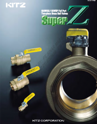 KITZ Super-Z Full Bore Brass Ball Valve